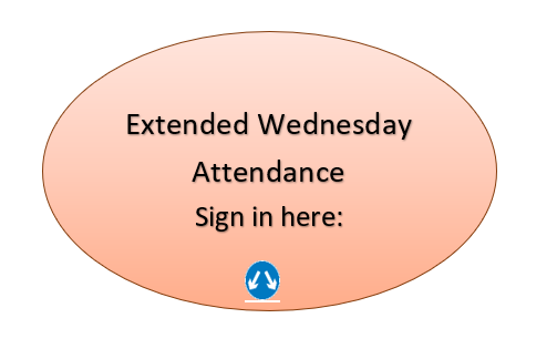 Extended Wednesday: Sign in Here
