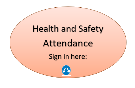 Healthy and Safety: Sign in here