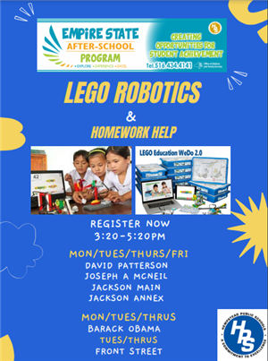 Empire Lego Robotics After School Program
