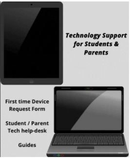 Technology  Support For Students and Parents/New Device Forms