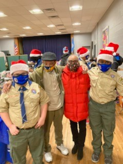 MBK - Troop 280 Mr. Segure Scout Master Christmas Toy Drive Dec. 22, 2020
