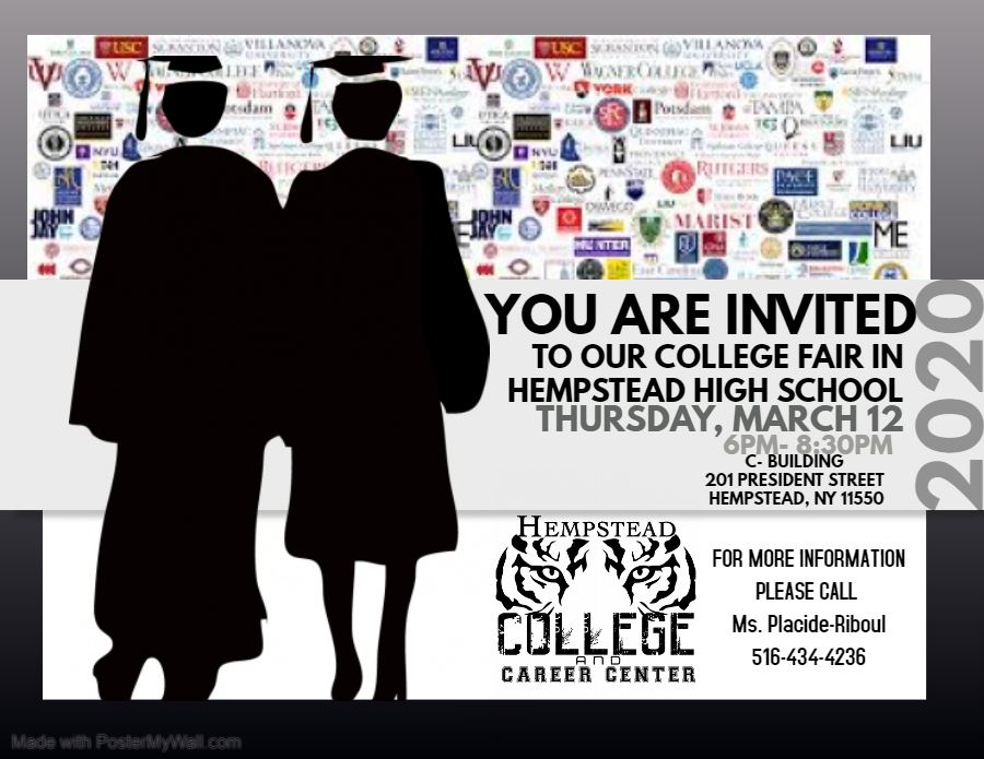 invitation to College fair