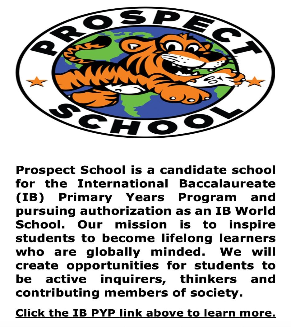 Prospect - IB PYP Candidate School