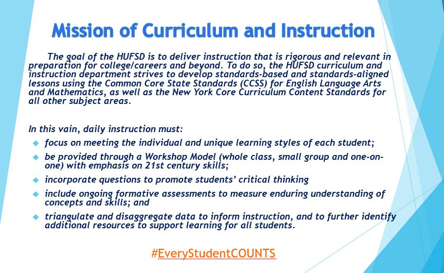 Curriculum and Instruction / Curriculum
