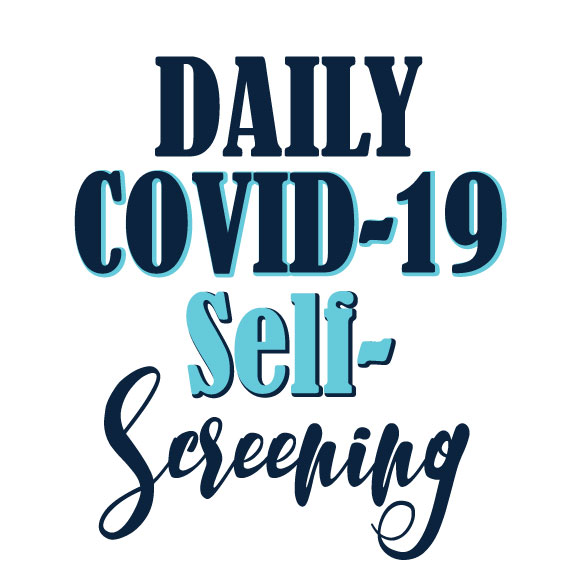 Districtwide Staff/Administrators COVID-19 Screening Self-Screening Form