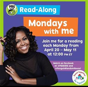 Read Along Mondays at 12pm